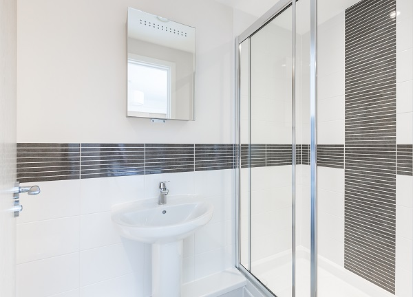 Shower at Central Gate Apartments - Citybase Apartments