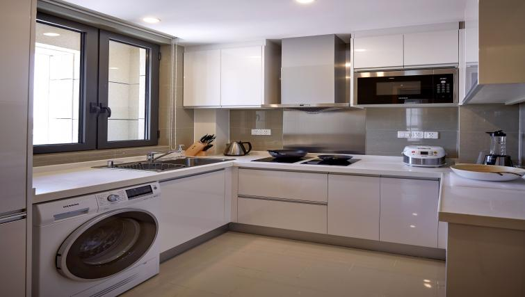 Kitchen at One Sunland Suites - Citybase Apartments