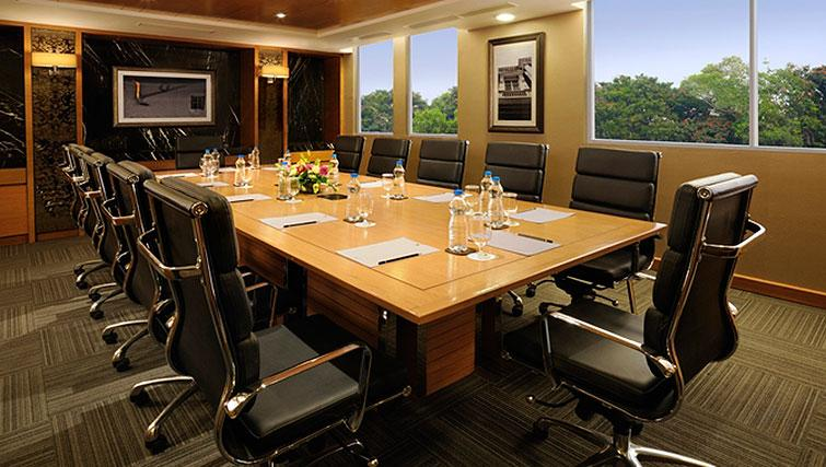 Meeting room at DoubleTree Suites by Hilton Bangalore - Citybase Apartments