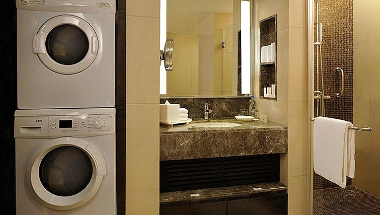 Shower room at DoubleTree Suites by Hilton Bangalore - Citybase Apartments