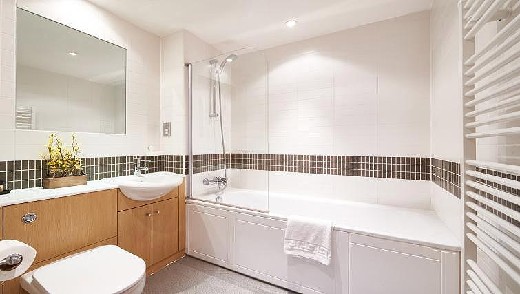 Bathroom at Vizion Milton Keynes Apartments - Citybase Apartments