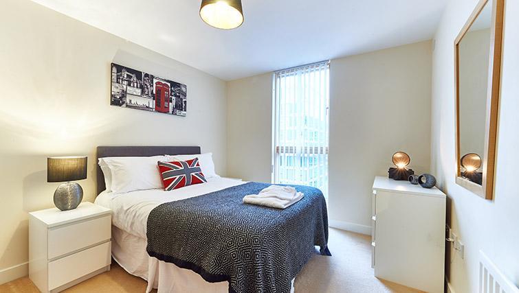 Bright bedroom at Vizion Milton Keynes Apartments - Citybase Apartments