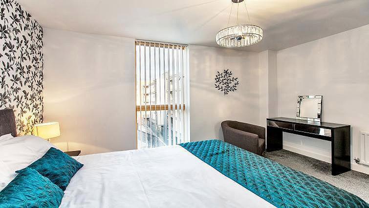 Bedroom at Vizion Milton Keynes Apartments - Citybase Apartments