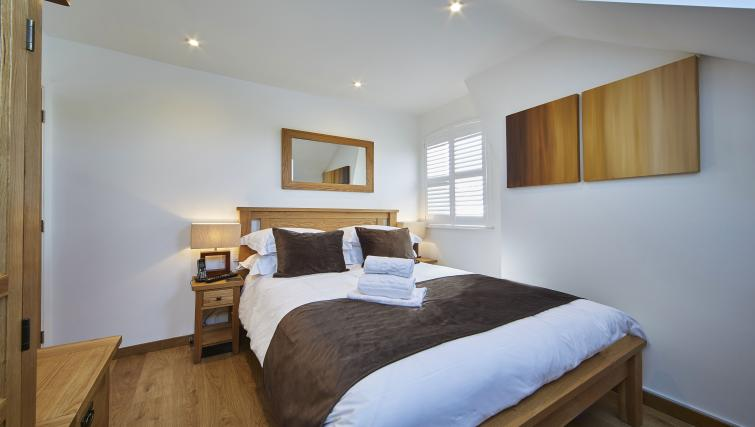 Bedroom at Castle Crescent Apartments - Citybase Apartments