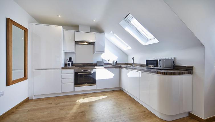 Kitchen at Castle Crescent Apartments - Citybase Apartments