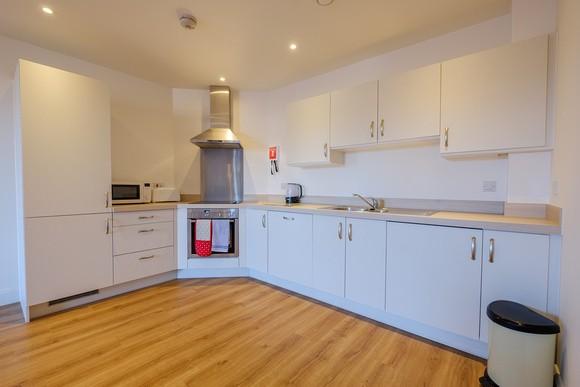 Kitchen at Kings Apartment - Citybase Apartments