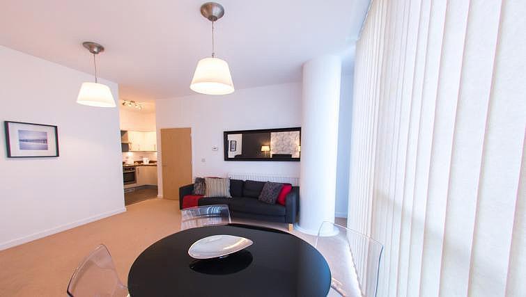 Bright living area at The Hub Milton Keynes Apartments - Citybase Apartments