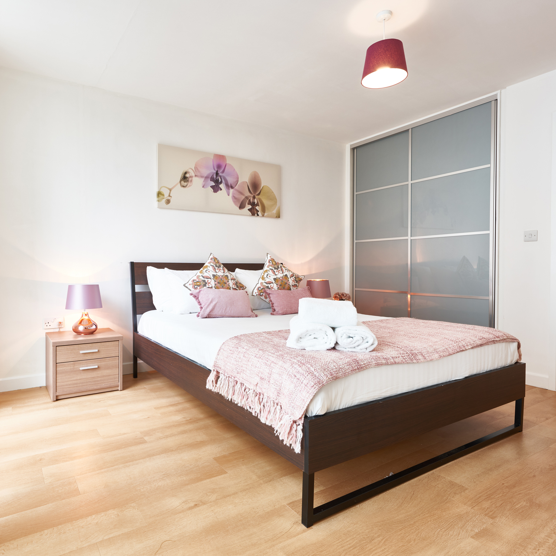 Bedding at The Hub Milton Keynes Apartments, Centre, Milton Keynes - Citybase Apartments