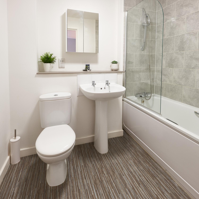 Sink at The Hub Milton Keynes Apartments, Centre, Milton Keynes - Citybase Apartments