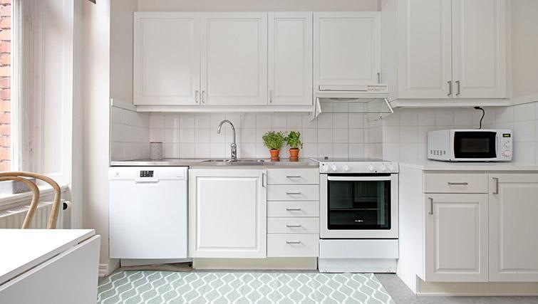 Kitchen at Krona Apartment - Citybase Apartments