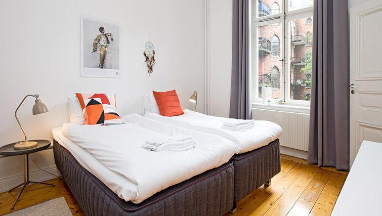 Bedroom at Krona Apartment - Citybase Apartments