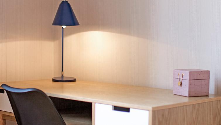 Work desk at Krona Apartment - Citybase Apartments