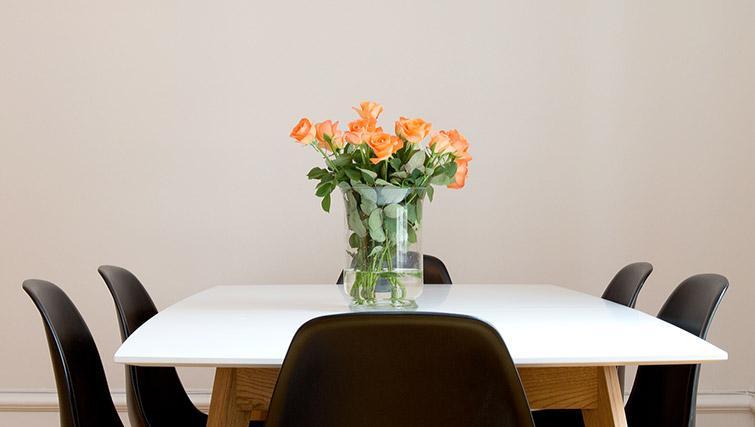 Dining table at Krona Apartment - Citybase Apartments