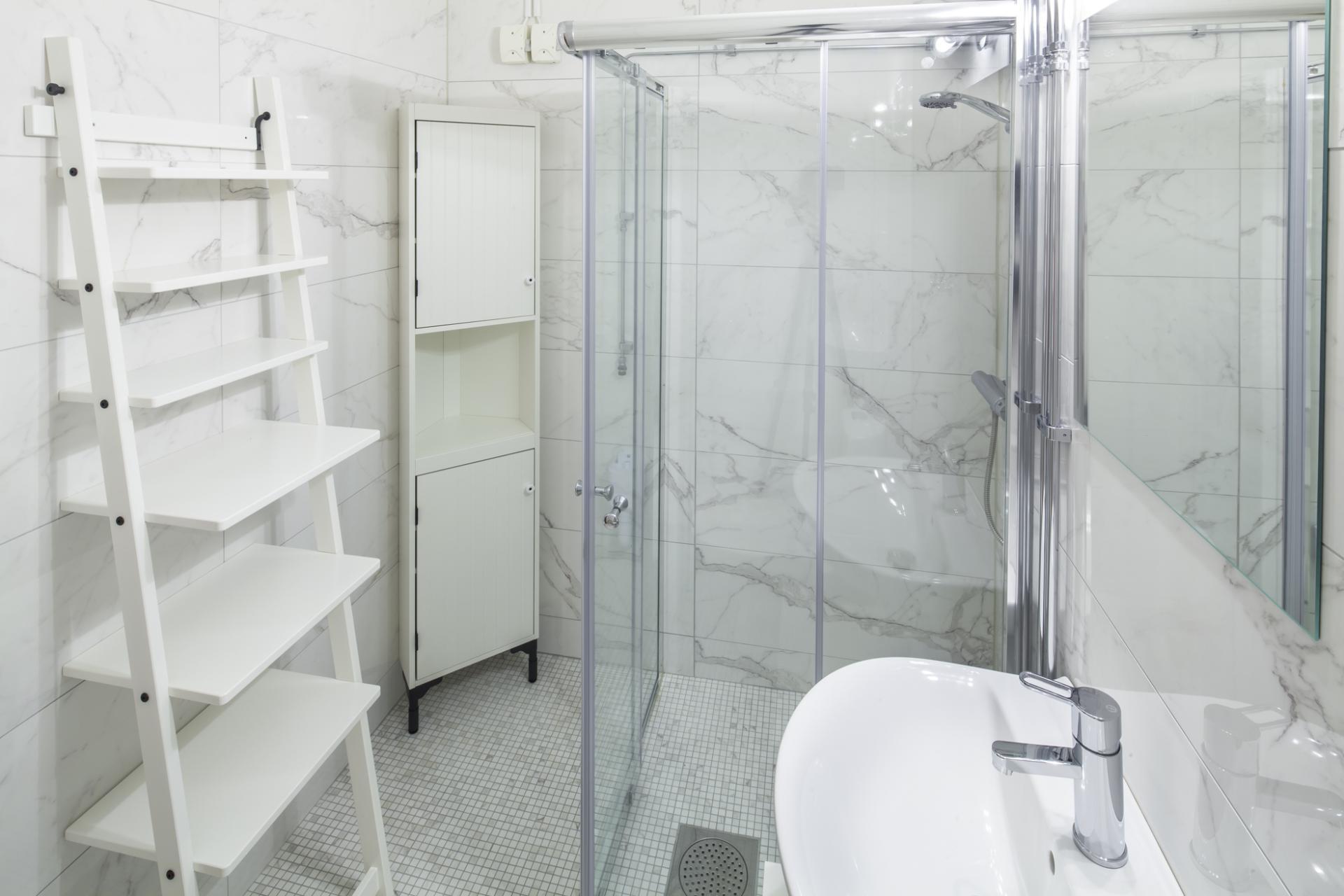 Living space at Krona Apartment - Citybase Apartments