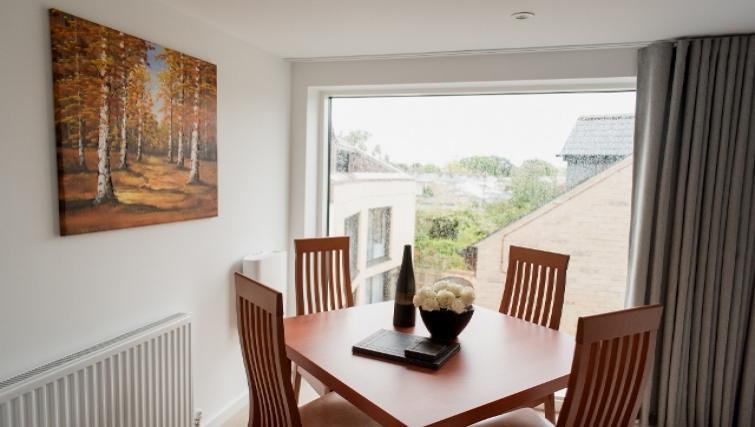 Dining area at Nelson Court Apartments - Citybase Apartments