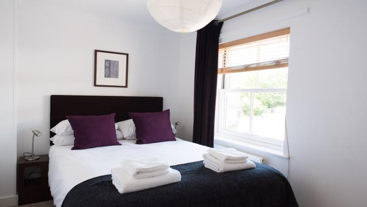 Bright bedroom at Nelson Court Apartments - Citybase Apartments