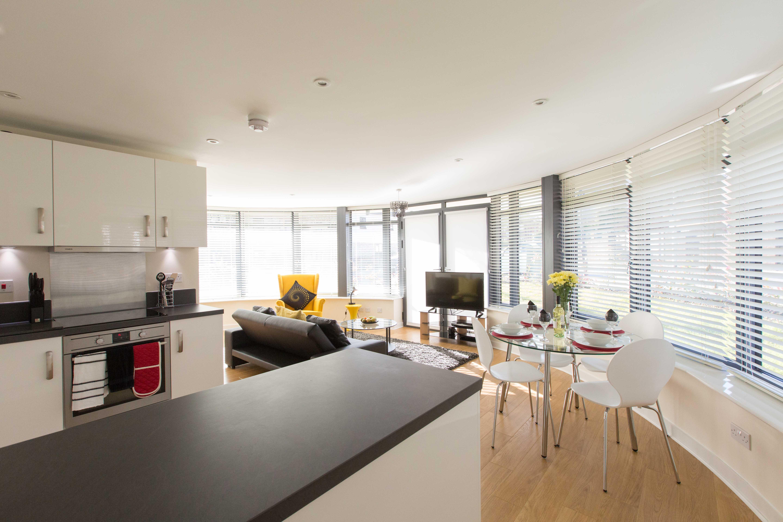 Kitchen at The Apex Apartment - Citybase Apartments