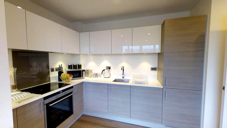 Equipped kitchen at Ceres Apartments - Citybase Apartments