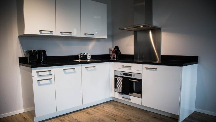 Kitchen at Huizingalaan Apartment - Citybase Apartments