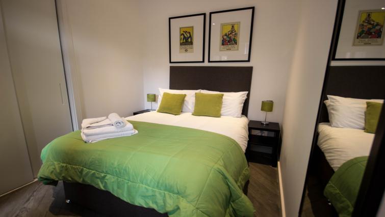 Bedroom at Verona Apartments - Citybase Apartments