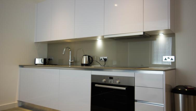 Kitchen at Verona Apartments - Citybase Apartments