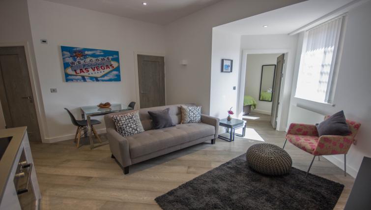 Living area at Verona Apartments - Citybase Apartments