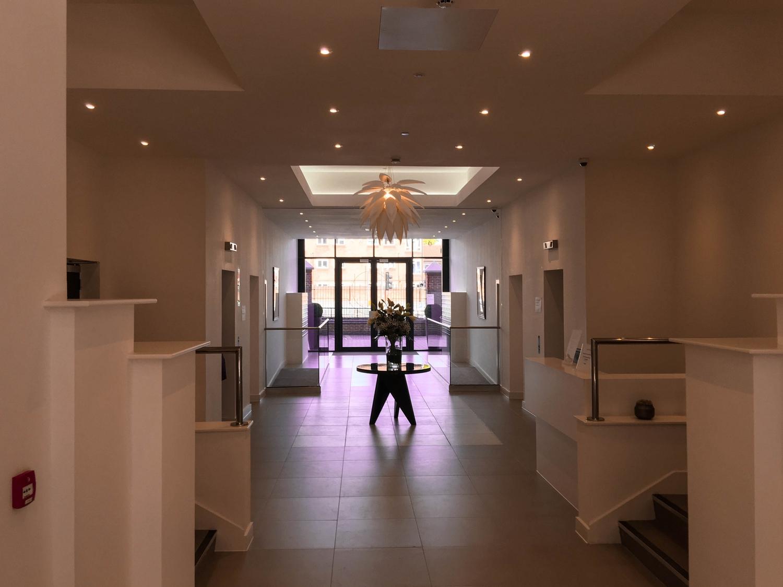 Lobby at Verona Apartments - Citybase Apartments