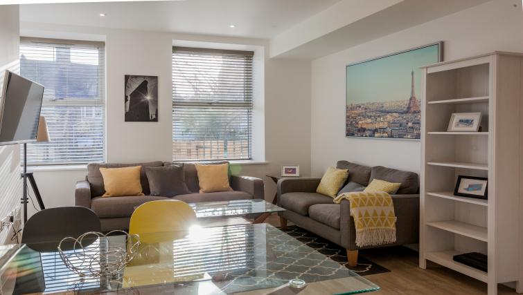 Living space at Bury Fields House Apartments - Citybase Apartments