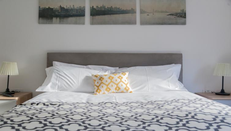 Bed at Bury Fields House Apartments - Citybase Apartments
