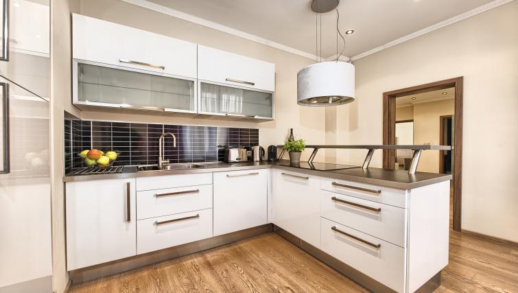 Kitchen at Konvikt Apartment - Citybase Apartments