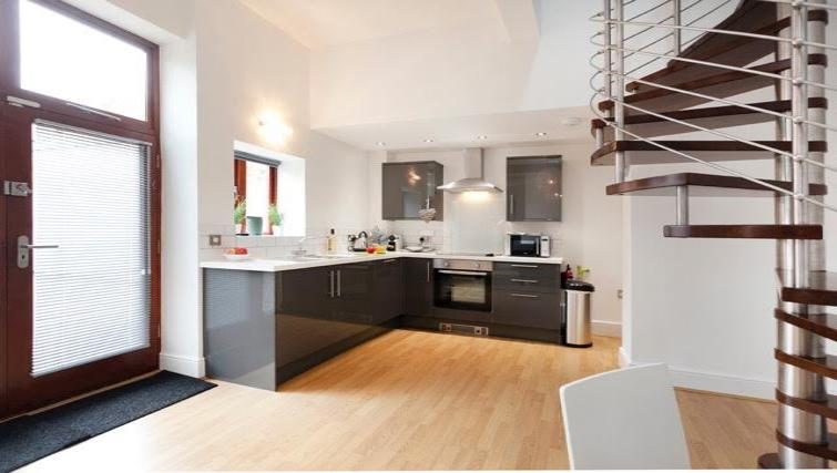 Kitchen at Coach House Apartment - Citybase Apartments