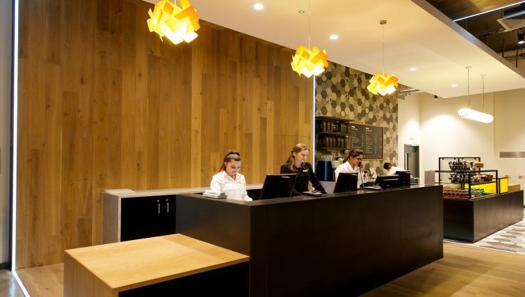 Reception at Staycity York Paragon Street - Citybase Apartments