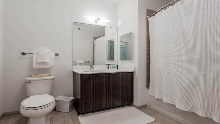 Bathroom at Mila Apartments - Citybase Apartments
