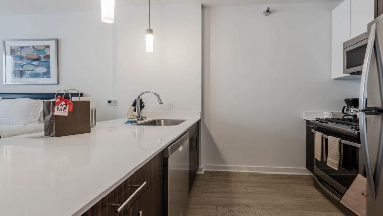 Kitchen at Mila Apartments - Citybase Apartments