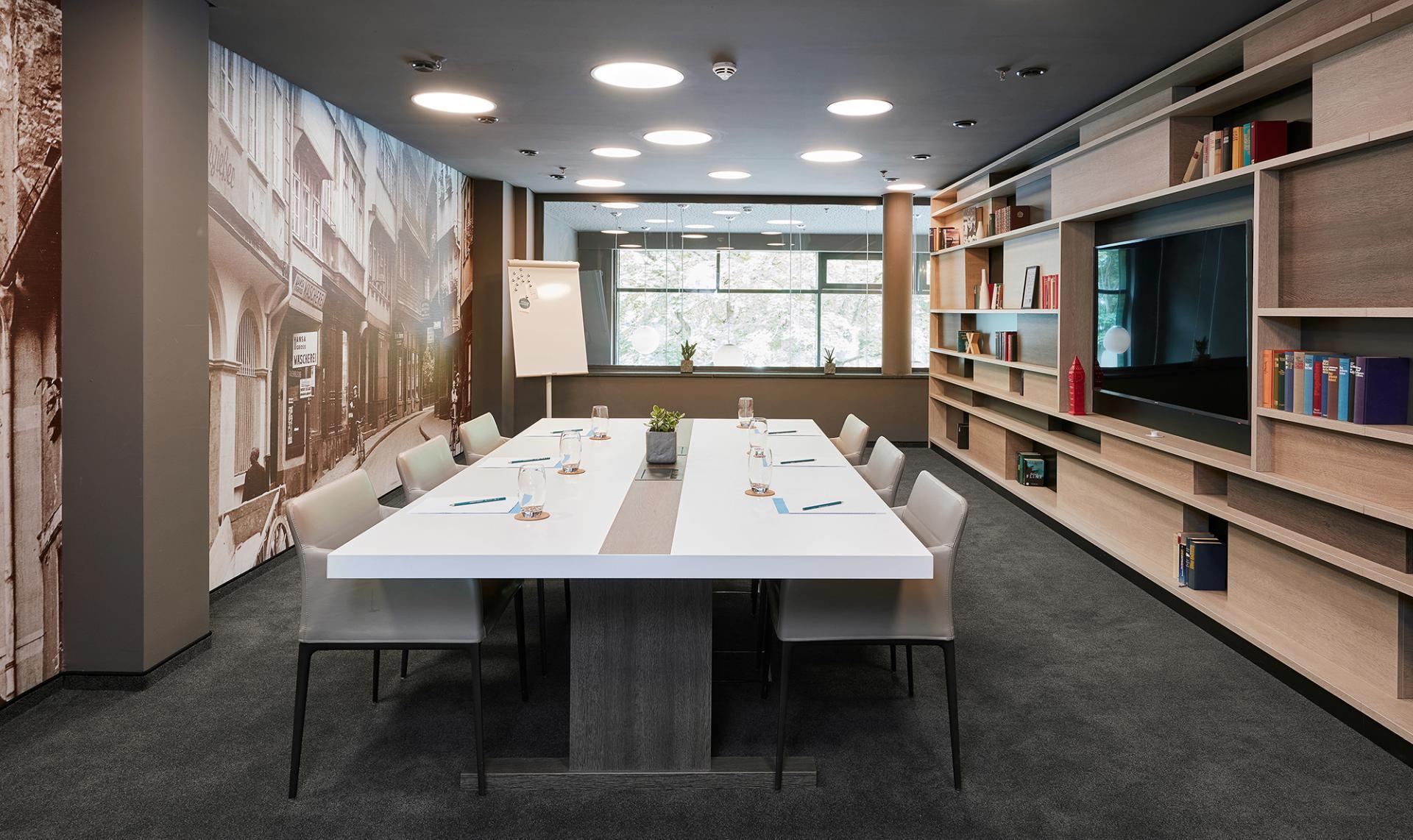 Meeting room at Living Hotel Frankfurt, Sachsenhausen, Frankfurt - Citybase Apartments