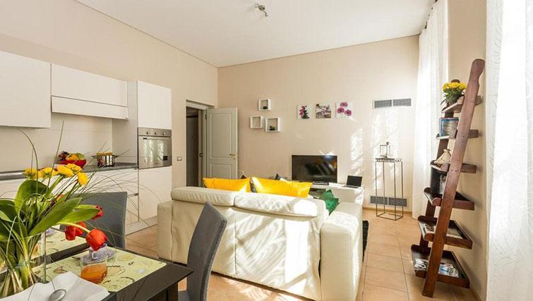 Living room at Relais Di Giada Apartment - Citybase Apartments