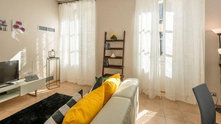 Living area at Relais Di Giada Apartment - Citybase Apartments