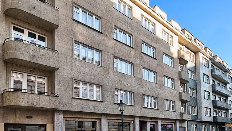 Exterior of Art Residence Krocinova - Citybase Apartments