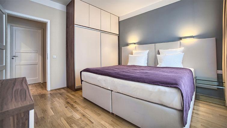 Second bedroom at Art Residence Krocinova - Citybase Apartments