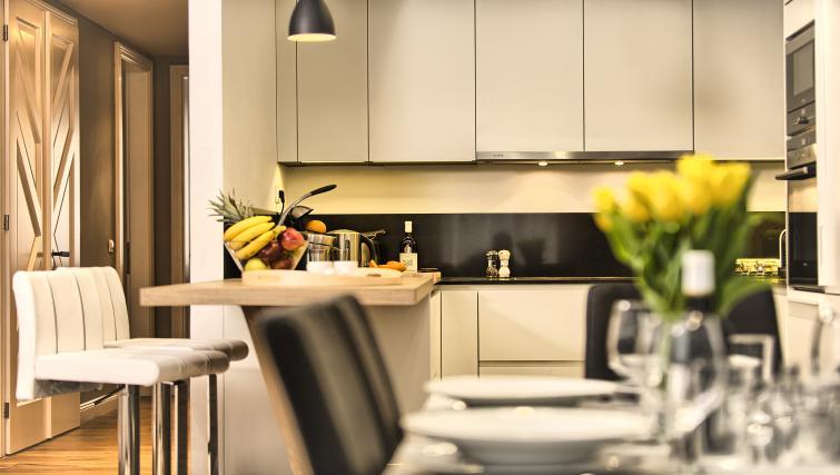Kitchen/diner at Art Residence Krocinova - Citybase Apartments
