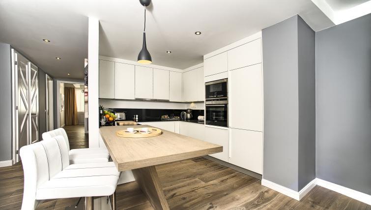 Kitchen at Art Residence Krocinova - Citybase Apartments