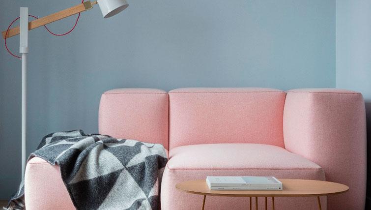 Sofa at SACO Leman Locke - Aldgate - Citybase Apartments