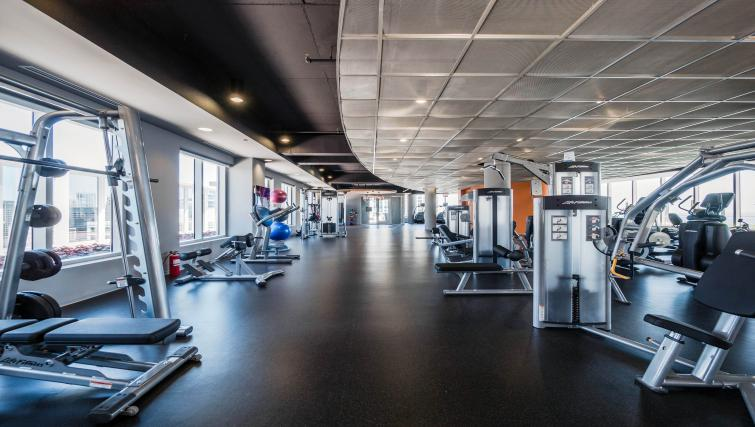 Gym at Marquee Apartments - Citybase Apartments