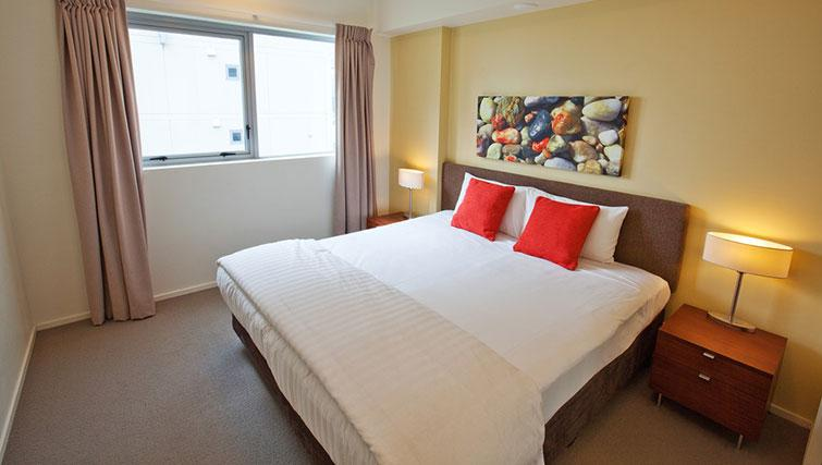 Bedroom in 1 bed at Mantra Trilogy - Citybase Apartments