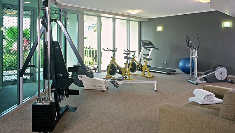 Gym at Mantra Trilogy - Citybase Apartments
