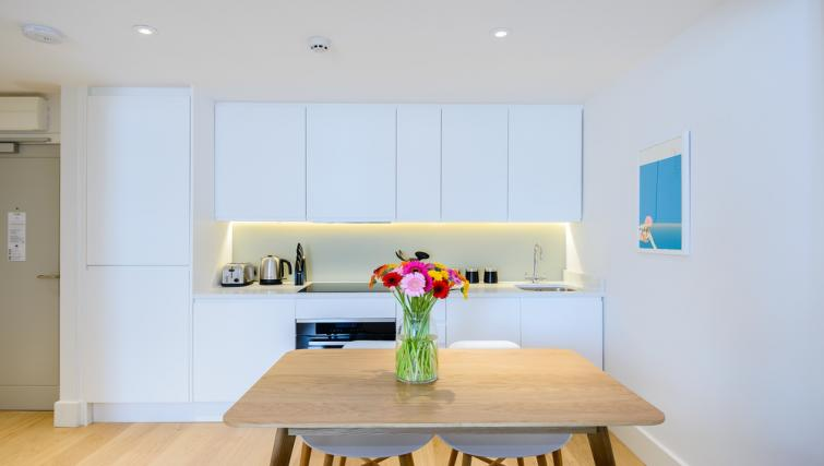 Dining area at Native Fulham Apartments - Citybase Apartments