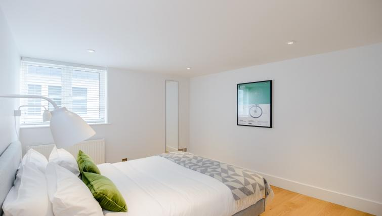 Double bed at Native Fulham Apartments - Citybase Apartments