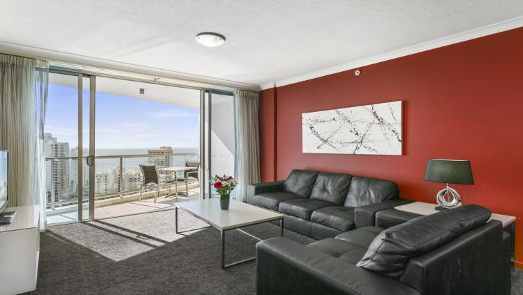 Fantastic living area at Mantra Towers of Shevron - Citybase Apartments
