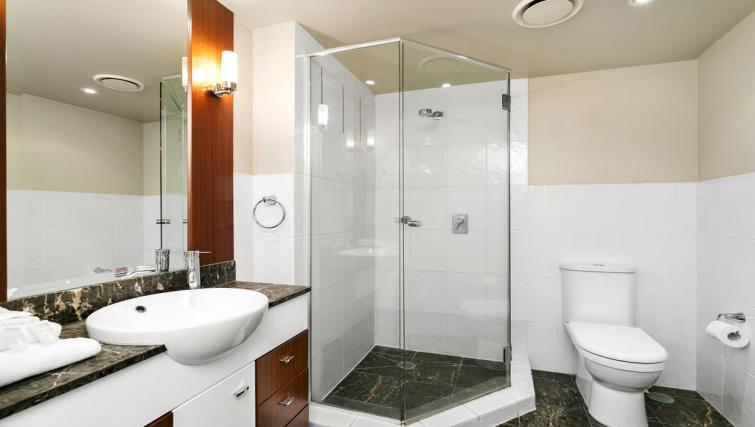 Shower at Mantra Towers of Shevron - Citybase Apartments