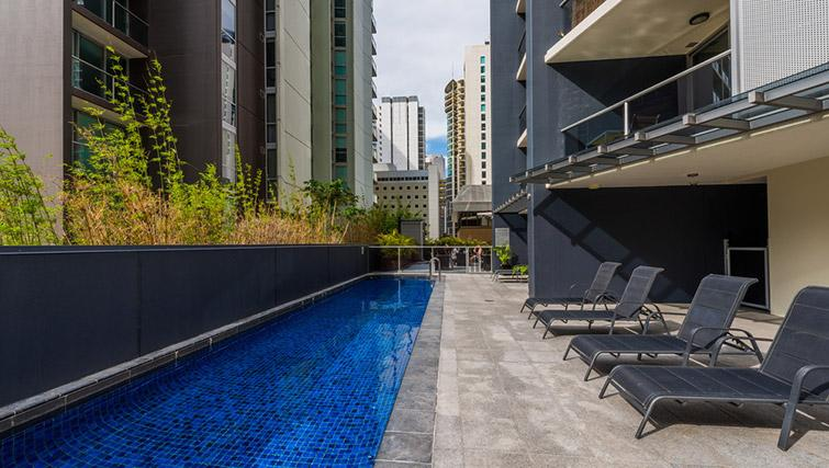 Swimming pool at Mantra on Mary - Citybase Apartments